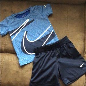 Toddler Boy Nike Dri-Fit Set